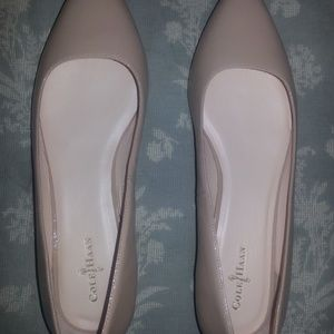 NEW Cole Haan Flats (Nude Color) Size 9-Never worn